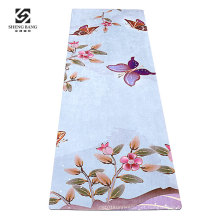 Material arts mats Sport gym Vietnam natural rubber Fitness natural yoga mat custom printing