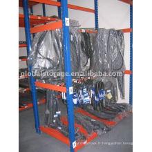 Rack pour les garnitures de l'automobile (support accrochant)