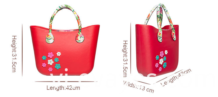HC88F EVA beach handbags size
