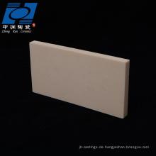 Verschleißbeständige keramische Brennplatten