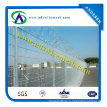 Сварная проволочная сетка для аэропортов с высоким уровнем безопасности