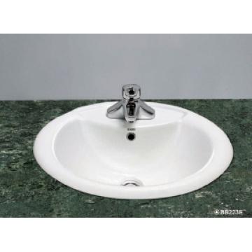 Bassin en céramique ovale (BB223E)
