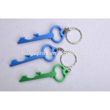 Corrente chave / anel / fob baratos do metal com logotipo, keylight e carabineer personalizados