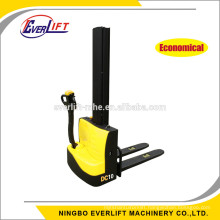 1ton 1000kg 1600mm 1950mm Cheapest Electric Stacker mini electric stacker for hot sale