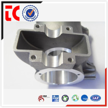 Sandblasted China OEM aluminum auto spare parts die casting