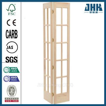JHK Latest Bathroom Double Shutter Folding Door