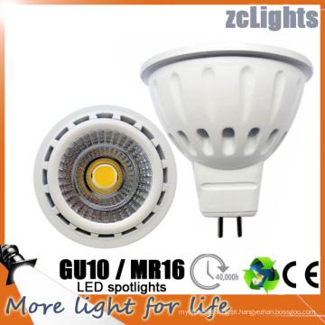 LED Spotlight MR16 Gu5.3 LED Spotlight 12V Lâmpada LED
