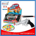 Plastic Army Gun Soft Air Bullet Toy with Candy