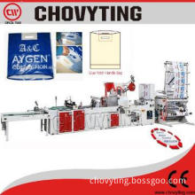 Patch handle Plastic bag making machine