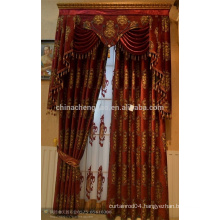 2015 china wholesale ready made curtain,royal style electric curtain