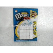 YongJun plastic 4x4x4 magic square cube educational toys for children