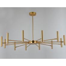 Lustre Lamparas Contemporary Brass Sputnik Pendant Lighting Chandelier Modern