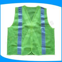 promotion season sale lime green mesh safety vest