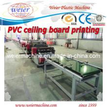 Plástico PVC Placa de teto impressora