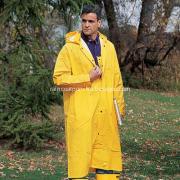 Mens Yellow Waterproof Rain Coat