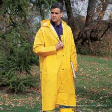 Мужские Желтый Водонепроницаемый Пальто Дождя