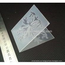 Scrapbook de flor de estilo Europa carpeta para hacer tarjeta de grabación en relieve