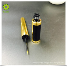 luxury gold colored empty cosmetic eyeliner packaging