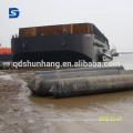 Atraque de embarcaciones y lanzamiento de airbag de goma marino inflable