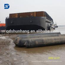 Airbag inflable del barco para el lanzamiento y el acoplamiento de la nave