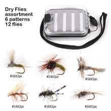 in Stock 6 Paterns Dry Flies Fly Fishing Flies