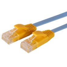 Cable de remiendo plano del utp del cat5e del precio de fábrica