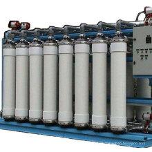 Sistema de tratamiento de agua UF para agua mineral.
