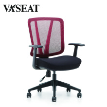 BIFMA Office Lift Chair Wholesale Swivel Mesh and Fabric Staff Chair