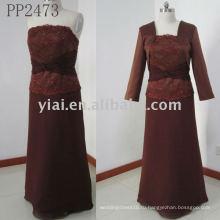 PP2473 новое прибытие бесплатная доставка мать невесты платье 2011