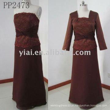 PP2473 nova chegada mãe de entrega gratuita do vestido da noiva 2011