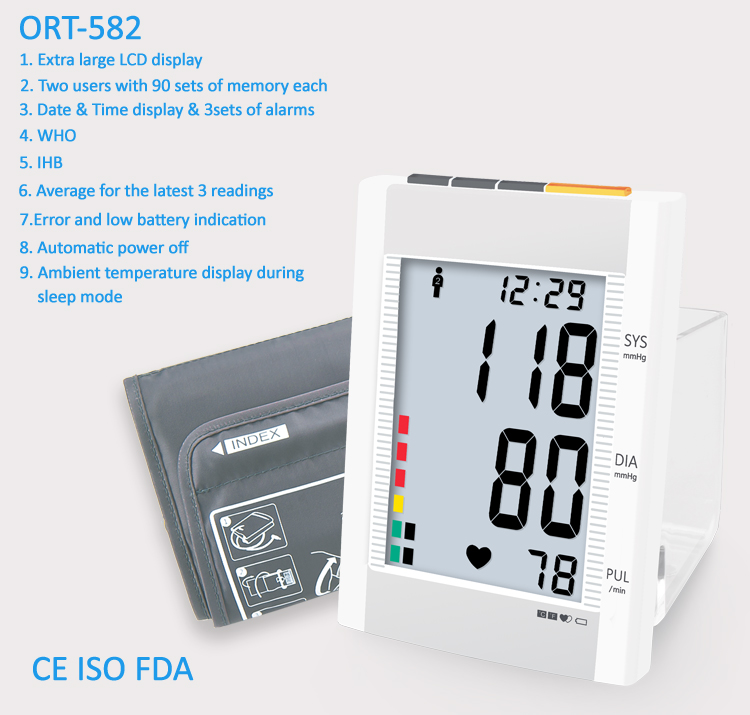 ORT582-blood-pressure-monitor