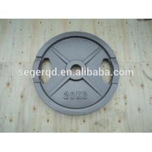 placa de peso pintado ferro fundido para vendas