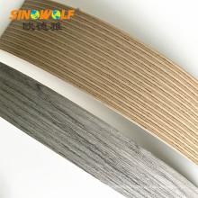 Мебель ABS Кромкооблицовочный популярный Цвет древесины зерна