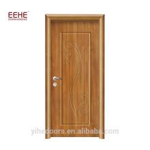 Preço do competidor banheiro PVC portas de madeira preços na Índia
