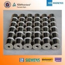 N35 Aimant de lave-vaisselle à anneaux de néodyme pour le ménage
