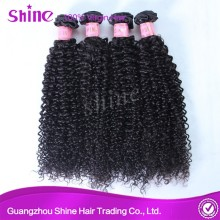 Cheap Raw Brazilian Hair Kinky Curly Natural Black