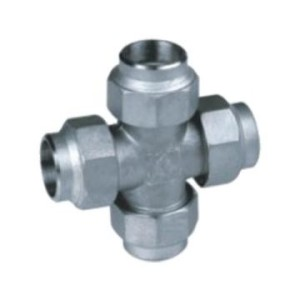Thin Wall Groove Fitting Equal Cross