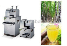 Stainless Steel Electric sugar cane juicer 300kg/h