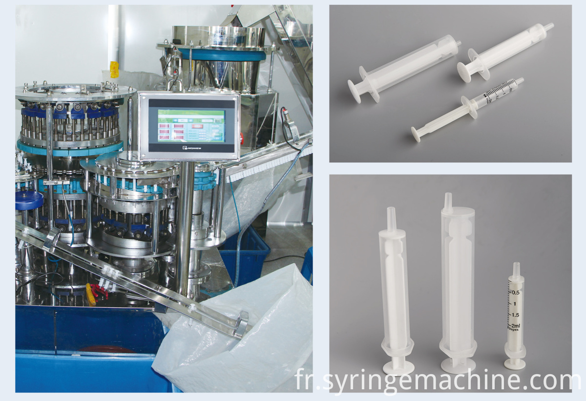 Disposable Syringe Machine