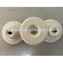 Cuplock de cerámica 70% / 80% / 85% Al2O3 de alúmina 10% POROSIDAD 5% de absorción de agua