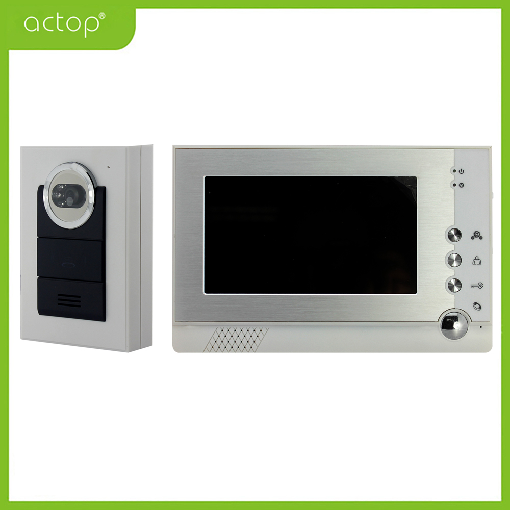 Villa Wired Video Intercom Security System China Manufacturer