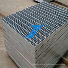 Grating galvanizado do assoalho da barra de aço
