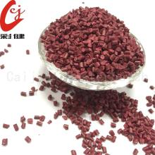 Granules Masterbatch Red Non-halogen