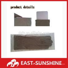 Logotipo personalizado impreso microfibra limpieza guantes polvo guante de reloj
