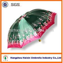 Venta caliente satén paraguas en Bangladesh