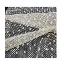 tissu de broderie de paillettes couture pour robe de femme