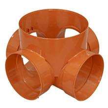 Molde de encaixe de tubo de peça plástica para injeção de Oem