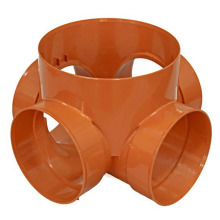 Oem injection plastic part pipe fitting mould