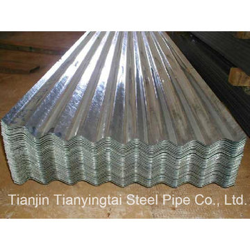 Folha de aço galvanizado