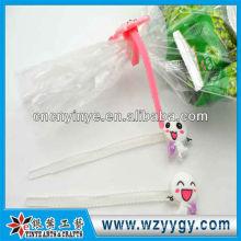 Zip popular saco amarrar para promoção, macia do pvc 3D abraçadeiras